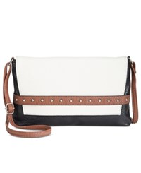 Styleandco. Style Co. Shaunee Flap Crossbody Only At Macy's Sand Black Luggage