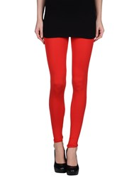 Maison Martin Margiela Mm6 By Maison Margiela Trousers Leggings Women Red