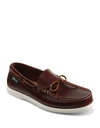 Eastland Yarmouth 1955 Leather Boat Shoes Dark Tan