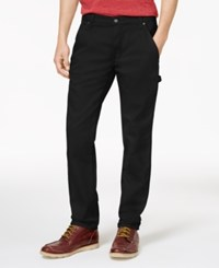 Dickies Men's Flex Duck Carpenter Pants Black