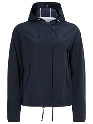 John Lewis Hooded Jacket Navy