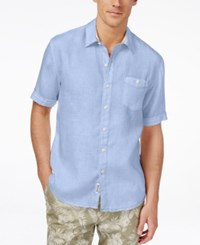 Tommy Bahama Men's Party Breezer Linen Short Sleeve Shirt
