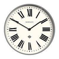 Newgate Number One Italian Wall Clock Posh Grey