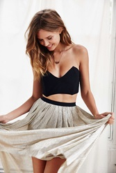 Out From Under Strapless Bra Top Black