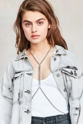 Urban Outfitters Mel Body Chain Silver