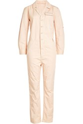 Closed Cotton Jumpsuit With Linen