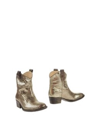Braccialini Ankle Boots Brown