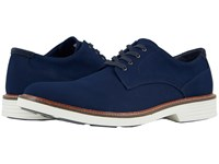 Dockers Parkway 360 Plain Toe Oxford Navy Twill Shoes Blue