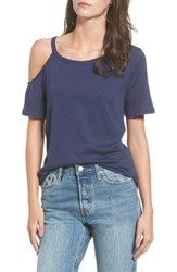 Women's Bp. Cold Shoulder Tee Navy Dusk