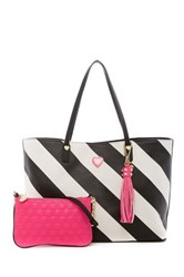 Betsey Johnson All That Jazz 2 In 1 Tote Multi