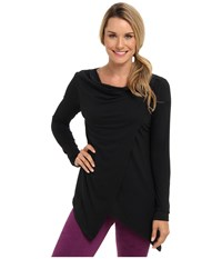 Fig Clothing Pailin Top Black Women's Long Sleeve Pullover