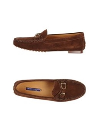 Ralph Lauren Collection Moccasins Red