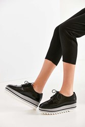 Jeffrey Campbell Eliot Platform Oxford Black