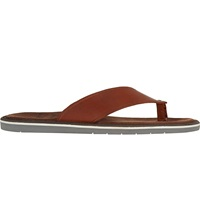 Kurt Geiger Konan Leather Sandals Tan