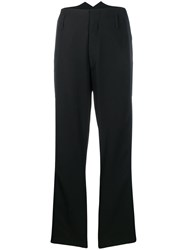Zadig And Voltaire Fashion Show Pablo Band Trousers Black