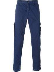 Stone Island Cargo Trousers Blue