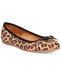 Style And Co. Addia Ballet Flats Only At Macy's Women's Shoes Leopard