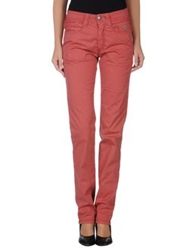 Carlo Chionna Casual Pants Brick Red