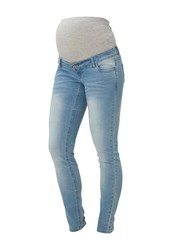Mamalicious Slim Fit Jeans Light Blue Denim Light Blue Denim