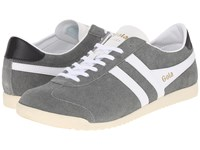 Gola Bullet Suede Grey White Men's Shoes Gray