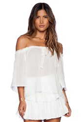 Loveshackfancy Gypsy Top White