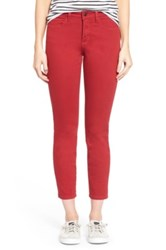 Nydj 'Clarissa' Colored Stretch Skinny Ankle Jeans Petite
