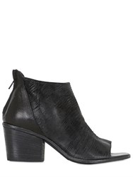 Fru.It 60Mm Open Toe Leather Ankle Boots