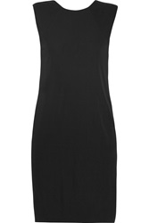 Alexander Wang Matte Jersey Dress Black