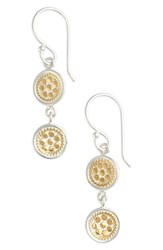 Women's Anna Beck Double Disc Drop Earrings
