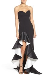 Jovani Women's Asymmetrical Sweetheart Gown