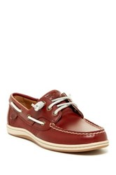 Sperry Songfish Boat Shoe Red