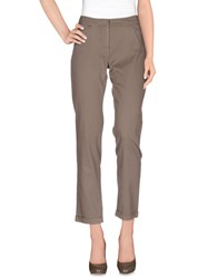 Brebis Noir Trousers Casual Trousers Women Khaki