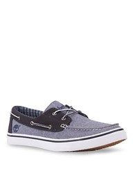 Timberland Newmarket Canvas Boat Oxfords