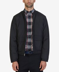 Nautica Men's Big And Tall Bomber Jacket True Black