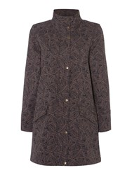 Tigi Fleece Lined Coat Charcoal