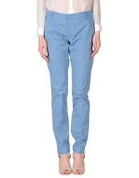 Entre Amis Casual Pants Pastel Blue