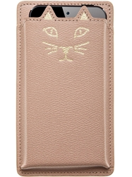 Charlotte Olympia 'Feline' Phone Cover Nude And Neutrals
