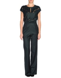 Fendi Pant Overalls Dark Green