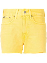 Polo Ralph Lauren Denim Shorts Yellow
