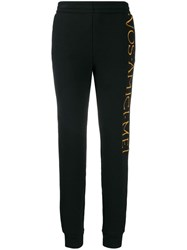 Moschino Embroidered Logo Track Trousers Black