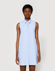 Farrow Button Down Dress In Oxford Blue