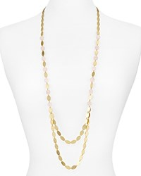 Stephanie Kantis Layered Chain Necklace 35 Gold Pink