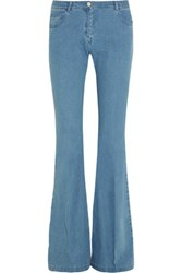 Michael Kors Collection Mid Rise Flared Jeans Mid Denim