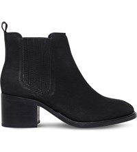 Miss Kg Samba Leather Ankle Boots Black