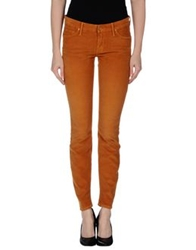 Mother Casual Pants Camel
