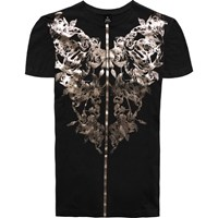 Raddar7 Scorpion Tattoo Metallic Black T Shirt