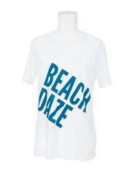 Quality Peoples T Shirt Beach Daze White
