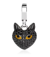 Theo Fennell Black Cat Charm Female