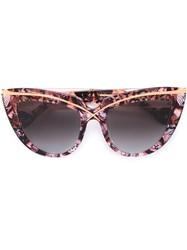 Anna Karin Karlsson 'Lusciousness' Sunglasses Pink And Purple