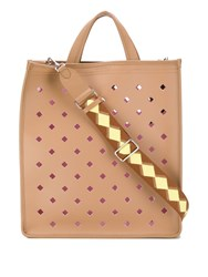 Coccinelle C Tote Bag Brown